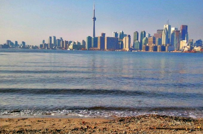 Toronto city viewed from across the lake - 100 Fantastic Cities for City Breaks, as chosen by travel bloggers (part 5)