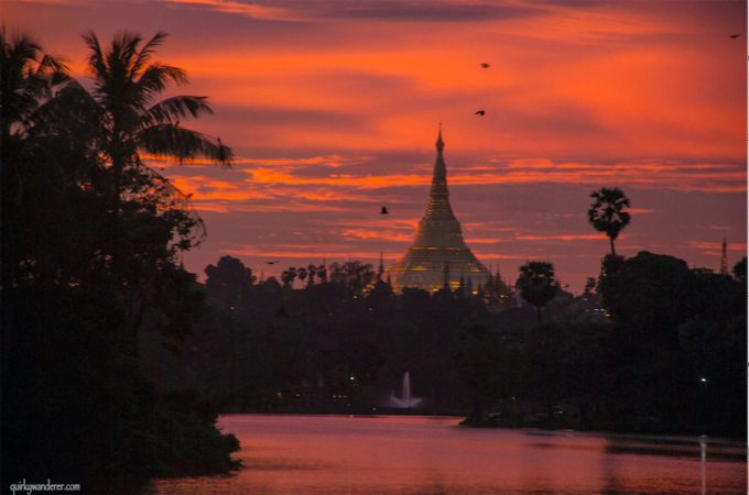 Yangon sunset on the riverside - 100 Fantastic Cities for City Breaks, as chosen by travel bloggers (part 5)