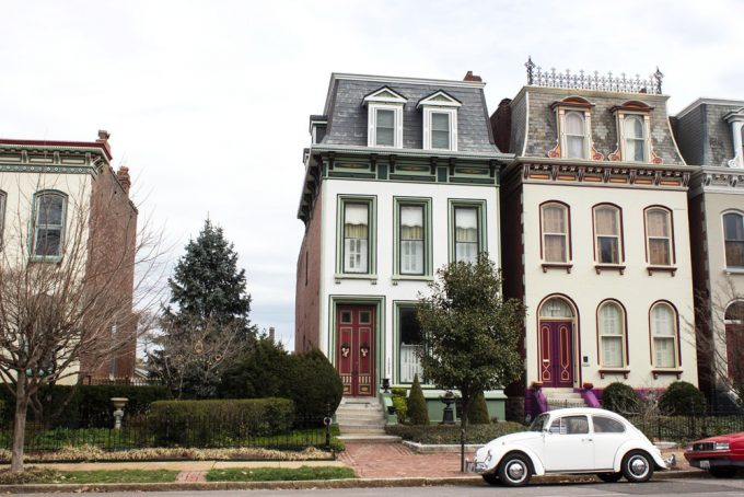 Historical houses in St Louis - 100 Fantastic Cities for City Breaks, as chosen by travel bloggers (part 5)