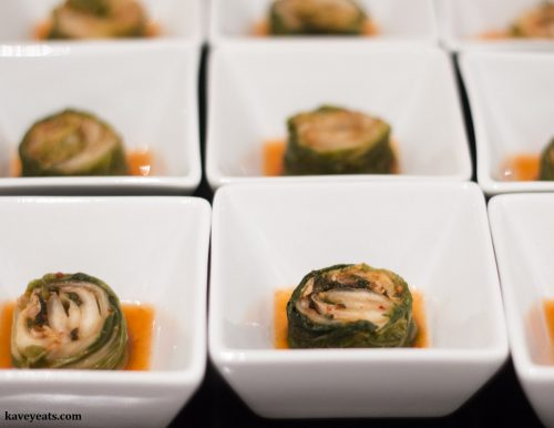 Korean Temple Food - Napa Cabbage Kimchi
