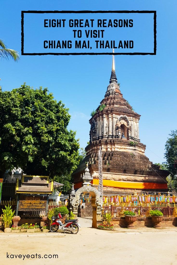 Chiang Mai Wat Lok Molee Temple