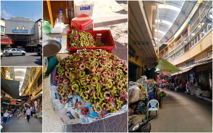 Hua Ro Market in Ayutthaya, Thailand