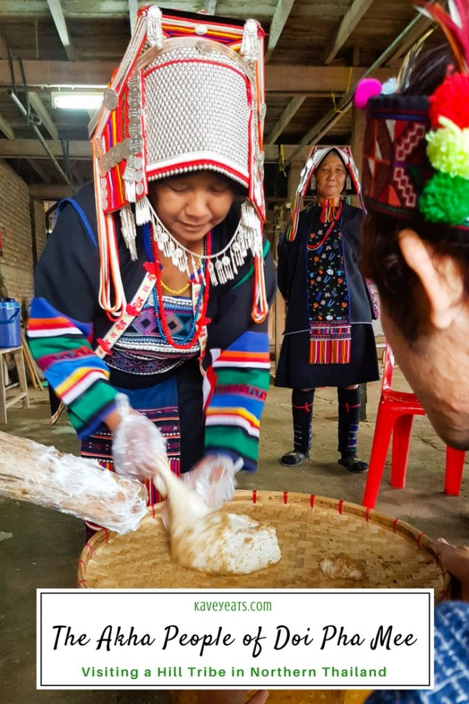 A two day visit to the Akha Hill Tribe of Thailand's Doi Pha Mee, on Kavey Eats