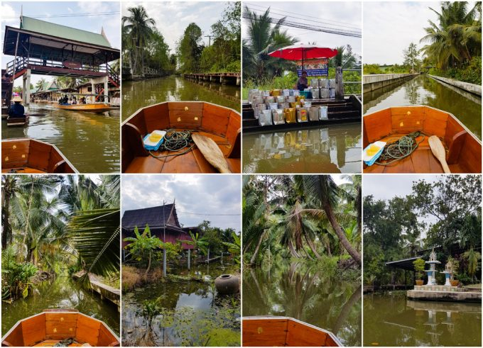 Boat Tour at Tha Kha Floating Market, near Bangkok Thailand