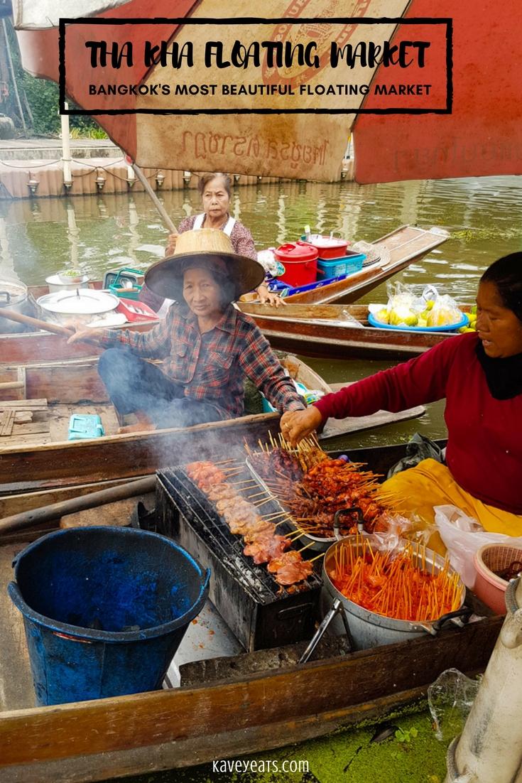 Tha Kha Floating Market, near Bangkok, Thailand