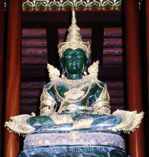 Emerald Buddha of Wat Phra Kaew Chiang Mai