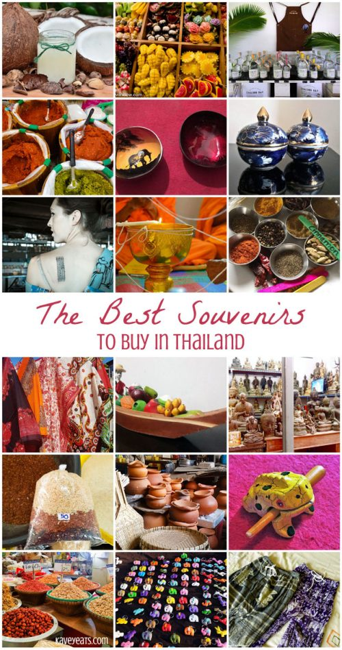 Best Souvenirs to buy in Thailand