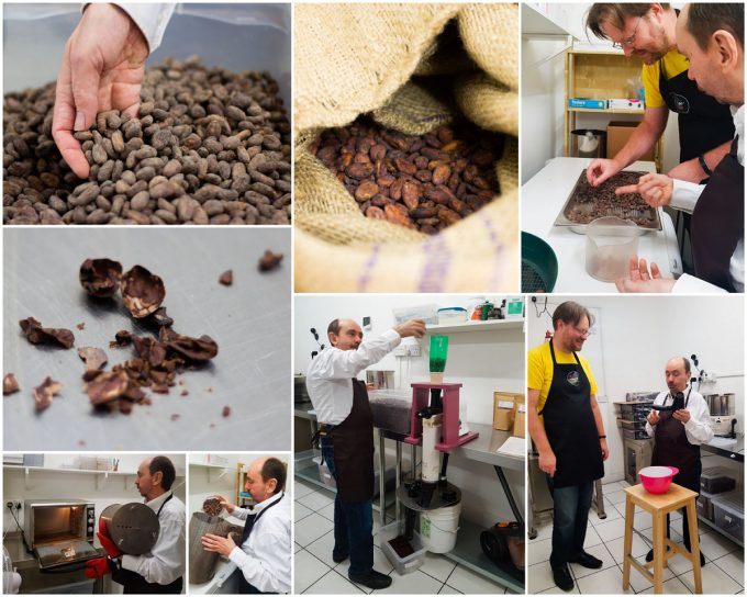 Damson Chocolate Bean to Bar Chocolate Making Workshop