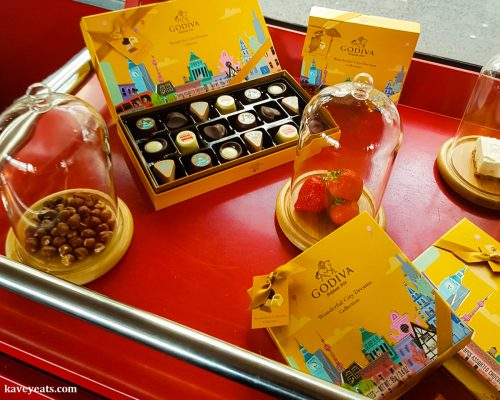 Godiva Wonderful Citry Dreams Chocolate Collection