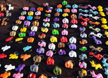 Elephant keyrings - The best souvenirs to buy in Thailand