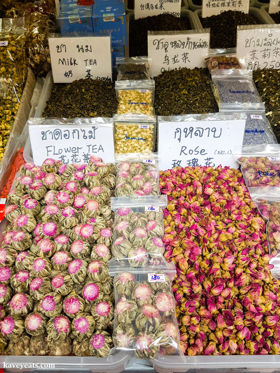 Tea Stall In Thai Food Market The Best Souvenirs To Thailand