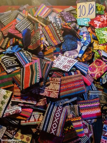 Fabric coin purses - The best souvenirs to buy in Thailand