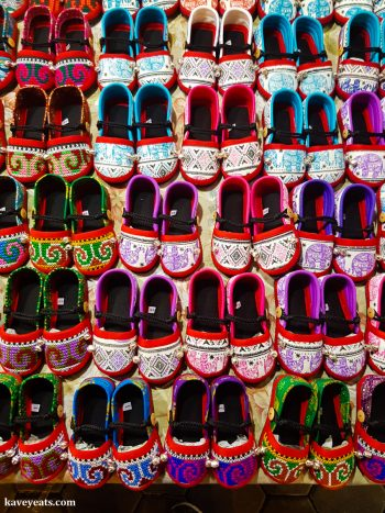 Fabric slippers - The best souvenirs to buy in Thailand