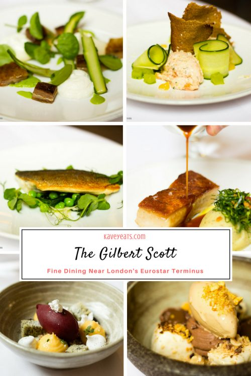 The Gilbert Scott by Marcus Wareing, this restaurant in London's historical St Pancras, is handy for King's Cross station and offers a great value set menu