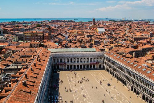 Campanile di San Marco - The Best Places to Enjoy a Panoramic View of Venice (Hayley Plotkin)