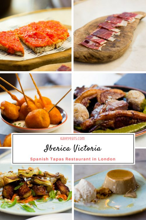 Iberica Victoria London Spanish Tapas Restaurant