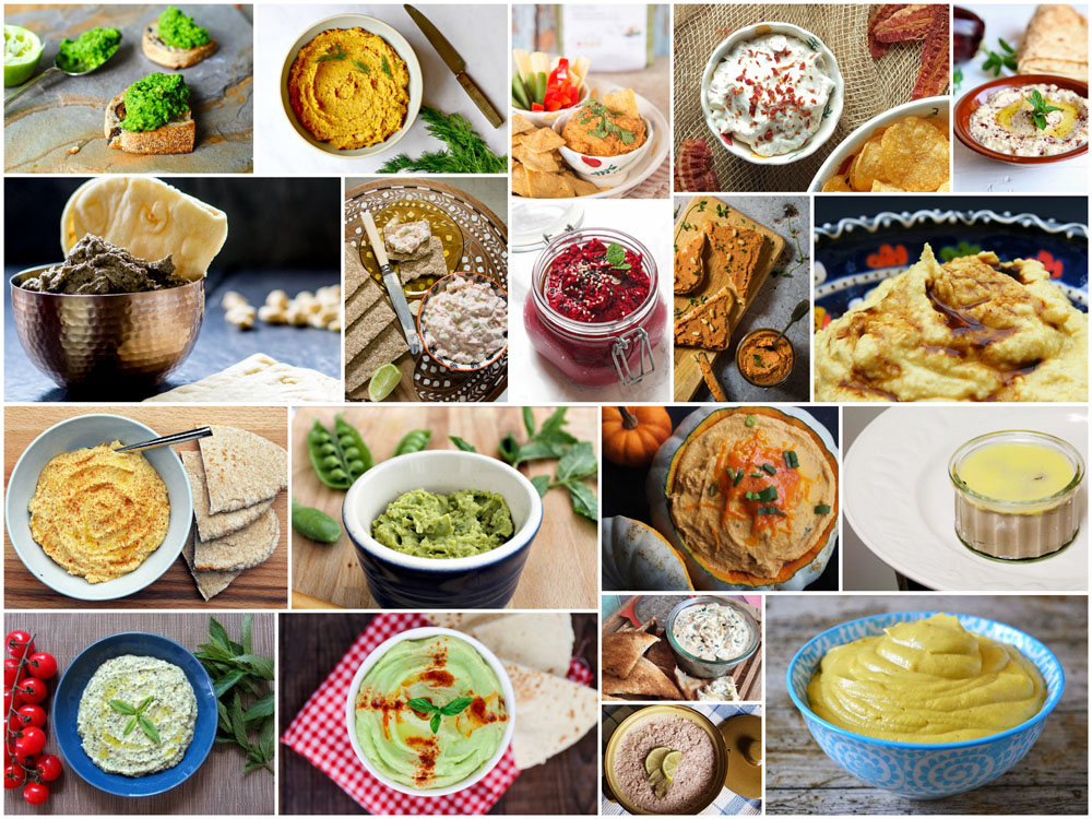 Picnic Recipes | 20 Perfect Patés & Dips