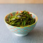 Asparagus with Sesame-Vinegar Dressing from Japan: The Cookbook by Nancy Singleton Hachisu