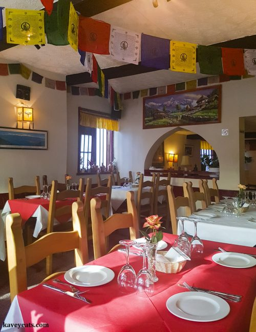 Yaks an Yetis Ghurka Himalayan and Nepalese Restaurant in Ross on Wye - (c) Kavey Eats