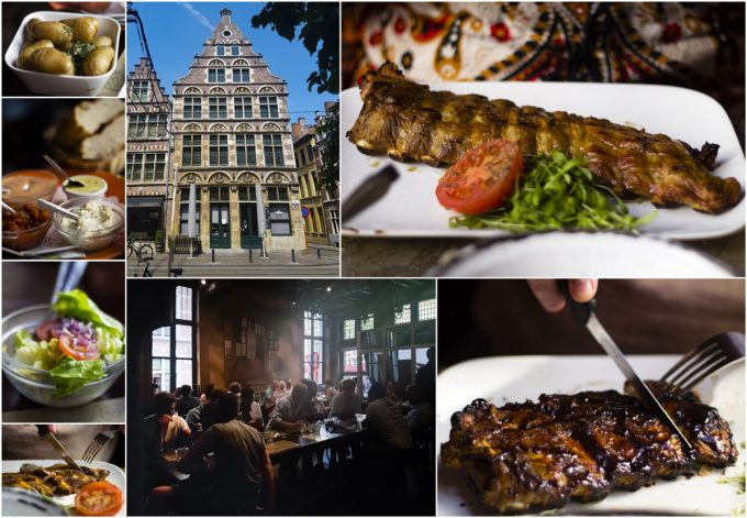 Where to Eat in Ghent (Gent) - De Gekroonde Hoofden - All-In-One Guide to Visiting Ghent, Belgium on Kavev Eats