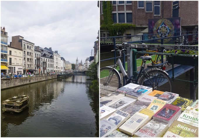Ajuinlei Book Market - All-In-One Guide to Visiting Ghent, Belgium on Kavev Eats