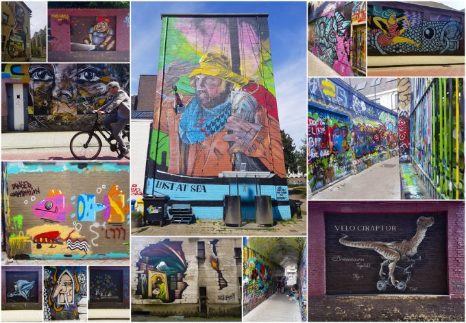 Graffiti and Street Art Murals - All-In-One Guide to Visiting Ghent, Belgium on Kavev Eats