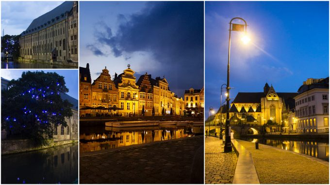 Night Illuminations - All-In-One Guide to Visiting Ghent, Belgium on Kavev Eats
