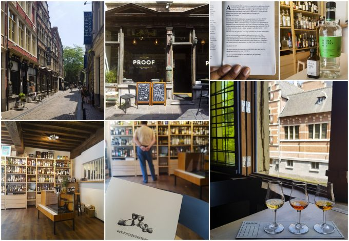 Proof Gin Shop and Tasting Bar - All-In-One Guide to Visiting Ghent, Belgium on Kavev Eats
