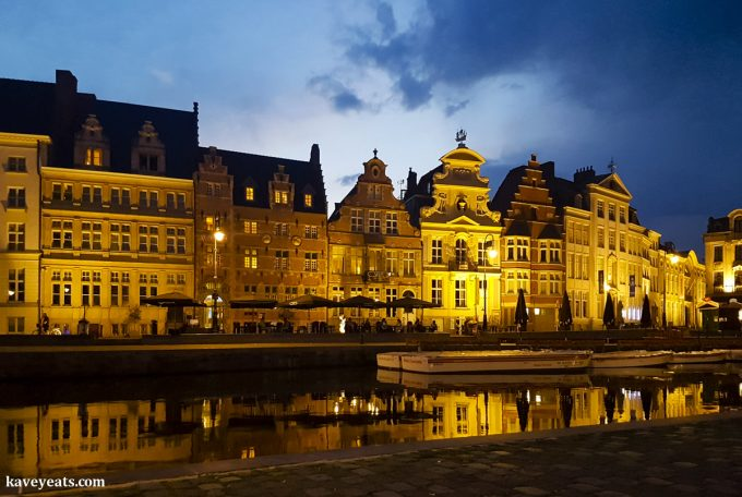 Graslei in Ghent (Gent). All-In-One Guide to Visiting Ghent, Belgium on Kavey Eats