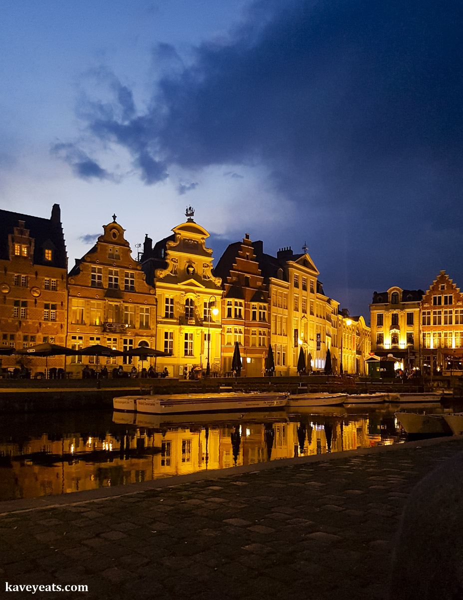 Complete to Visiting Ghent, Belgium on Kavev Eats (Sightseeing, Food, Drink and Hotel)