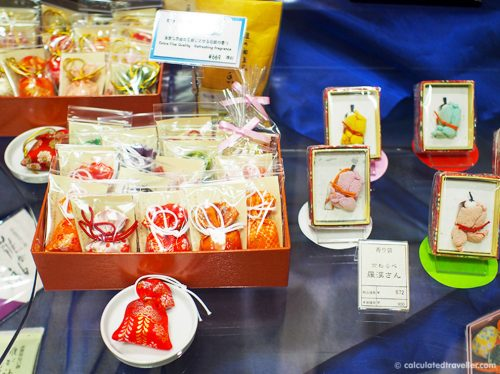 Japanese Kōdō Silk Incense Pouches (Best Souvenirs from Japan)