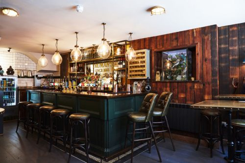 A review of Truman's Brewery Newman Arms pub menu