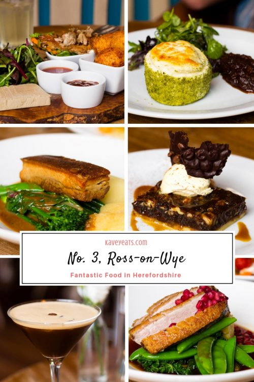 No 3 Restaurant Ross on Wye - a review by Kavey Eats