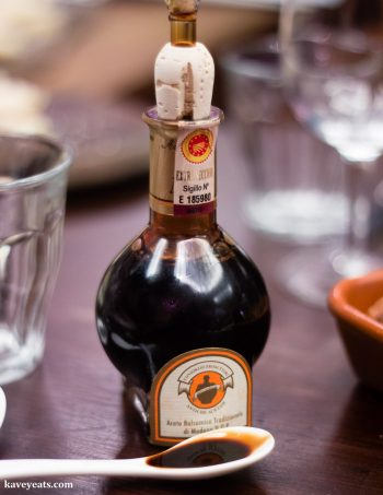 Aceto Balsamico Tradizionale - Real Balsamic Vinegar (Best Souvenirs from Italy)