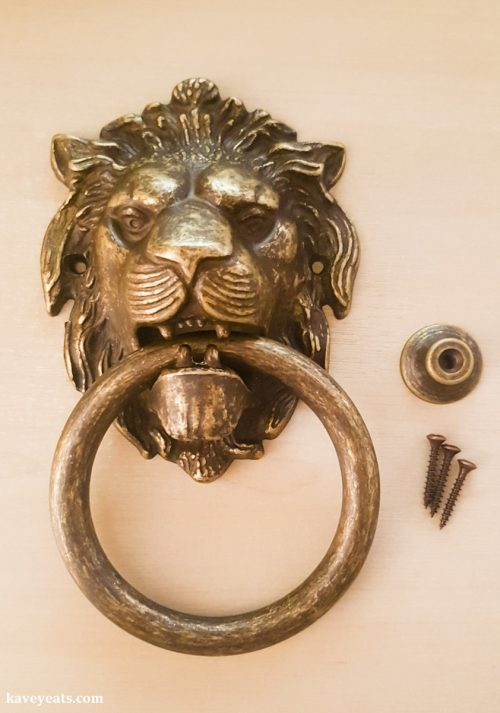 Venetian Lion Doorknocker from, Venice (Best Souvenirs from Italy)