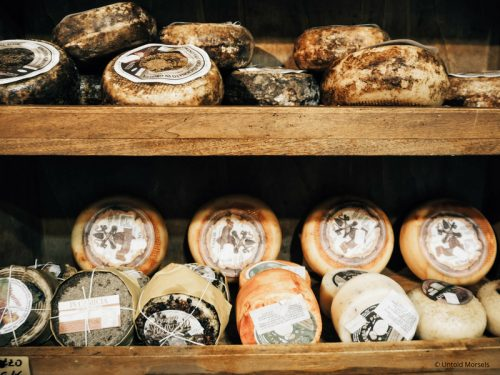 Italian cheeses (Best Souvenirs from Italy)