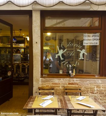 Favourite Places To Eat Cicchetti in Venice