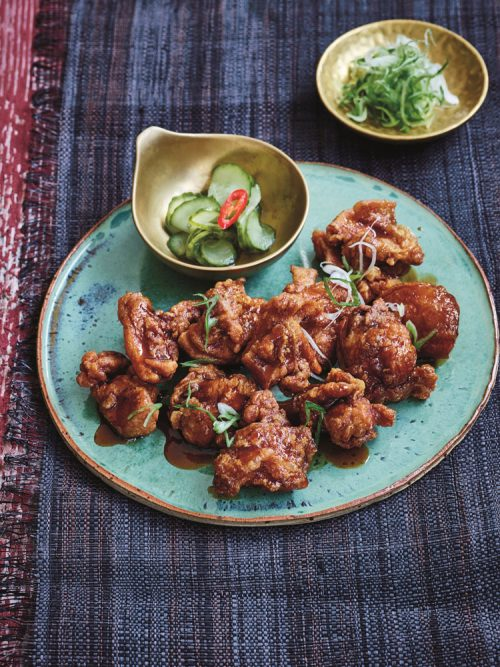 Marmite Chicken from The Japanese Larder by Luiz Hara | Bringing Japanese Ingredients Into Your Everyday Cooking
