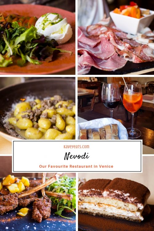 Nevodi, a fantastic traditional restaurant in Venice's laidback Castello district - check out the review to find out why this was our favourite restaurant in Venice