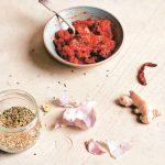 Recipe: Tamatar Ki Chutney   Tomato chutney with Prunes and Apricots