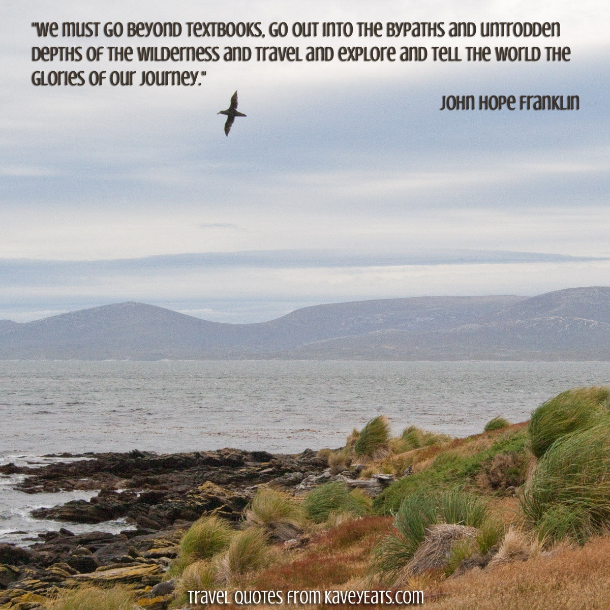 Travel Quote Tuesday | Go Beyond Textbooks - Kavey Eats