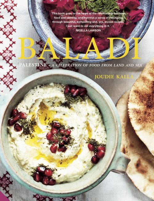 Book jacket for Baladi: Palestine - a celebration of food from land and sea by Joudie Kalla