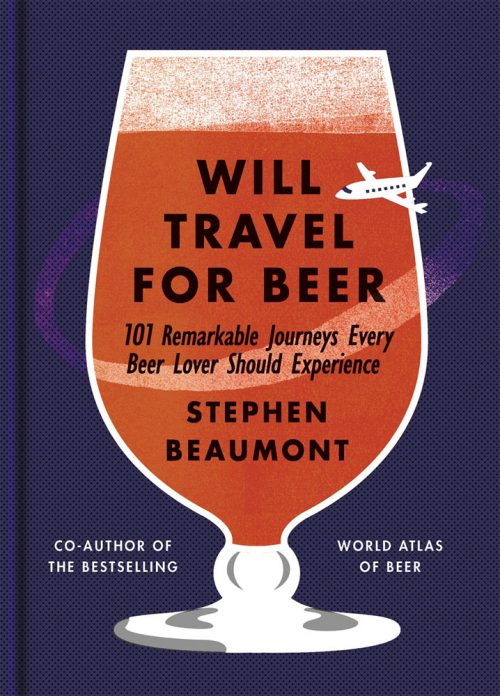 Book jacket for Will Travel for Beer