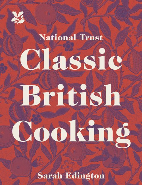 Book jacket for the National Trust's Classic British Cooking