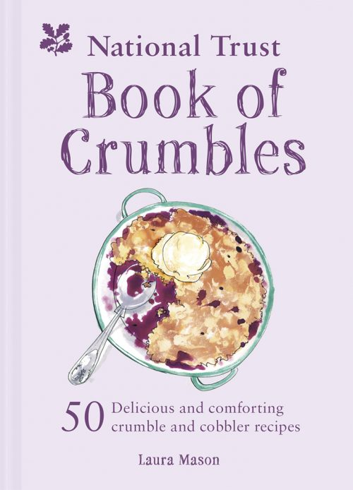 Book jacket for the National Trust's Book of Crumbles