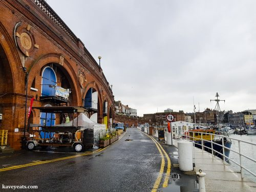Down in the marina area of Ramsgate's Royal Harbour