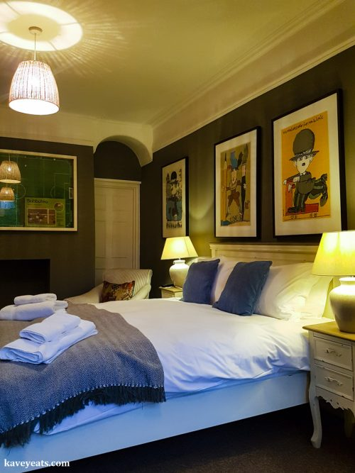 Spacious ground floor double room at Royal Harbour Hotel Ramsgate