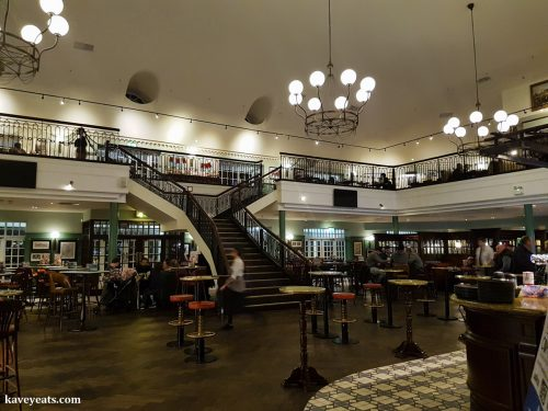 Inside Royal Victoria Pavilion in Ramsgate