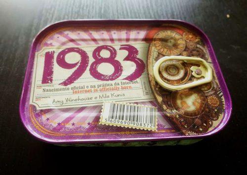 Portuguese tinned sardines