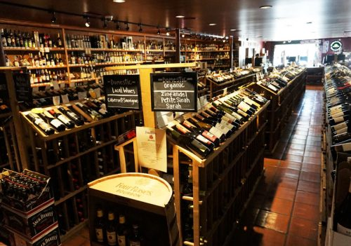Wine in a Wine Shop - The Best Souvenirs to Buy in the USA